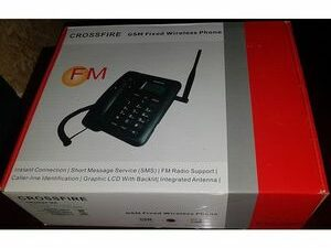 Crossfire GSM DUAL SIM FIXED WIRELESS PHONE FOR ALL NETWORKS