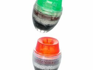 2pcs Water Filter 5layer Tap Nozzle Water Clean Filter Healthy