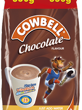 Cowbell Instant Filled Milk Powder Chocolate 550 g
