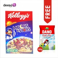MOONS  STARS  Kellogs Choco Cereal 400g with FREE DANO COOL COW MILK 150G