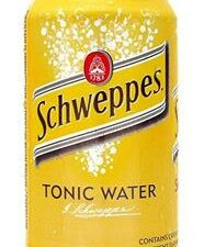 Schweppes Tonic Water Can 33 cl x6