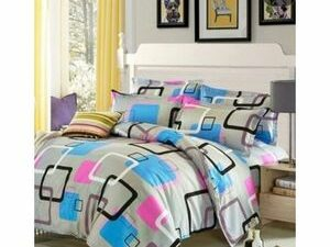 DUVET And Bed Sheet With Pillow Cases NO THROW PILLOWS
