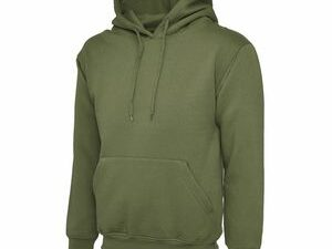 Amry Green Hoodie Pullover