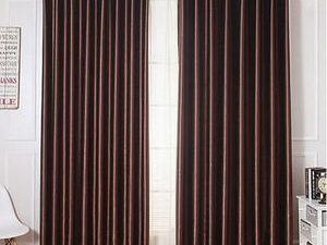 75ft By 75ft High Quality Plain Brown Curtain