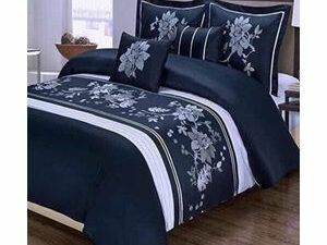 Unique Duvet Bedsheets With 4Pillowcases NO THROW PILLOWS