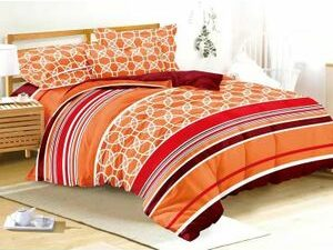 QUALITY AND LOVELY BEDSHEET DUVET WITH 4PILLOWCASE