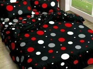 Quality Duvet And Bedsheet With 4 Pillow Cases  MULTI