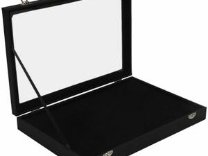 100 Slot Ring Display Organizer Box And Earring Storage Case