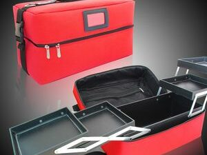 Luxurious Fashion Large Capacity Make Up Organizer And Cosmetic Bag