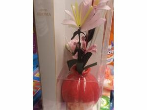 HOTEL AROMA RED FLOWER DIFFUSER