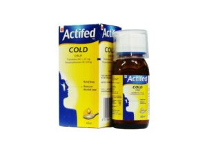 ACTIFED syrup