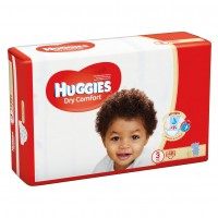 HUGGIES DRYCOMFORT DIAPERS SIZE 3 48 diapers