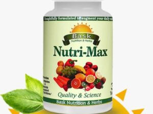 Nutri-Max Quality & Science Bask Nutrition & Herbs