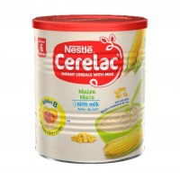 Cerelac Maize with Milk 400g x12 carton  Baby Cereals after 6months