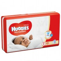 HUGGIES DRYCOMFORT DIAPERS SIZE 2 54 diapers