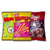 MUNCH IT AND MOONS  STARS x 10each 30 sachets